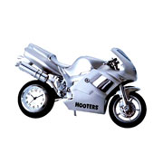 Motorcycle Metal Clock