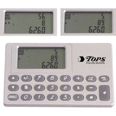 Paperless Pocket Calculator