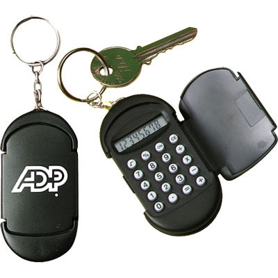 Budget Calculator Keychain