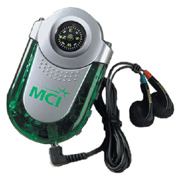 FM Auto-Scan Radio With Compass