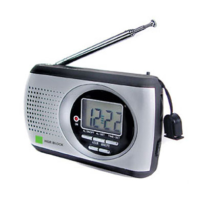 AM/FM Radio With Alarm Clock