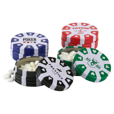Poker Chip Container