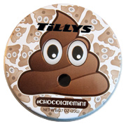 Poop Emojy Tin With Chocolate Mints