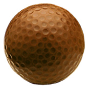 Chocolate Golf Balls in Custom Box