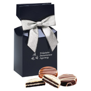 Chocolate Covered Oreo Cookies - Navy Box