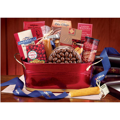 Deluxe Office Party Basket
