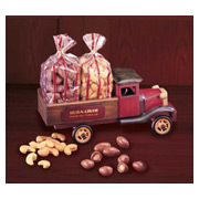 Vintage 1931 Pick-up Truck With Milk Chocolate Almonds and Cashews