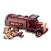 Classic 1927 Tank Truck With Milk Chocolate Almonds and Jumbo Cashews