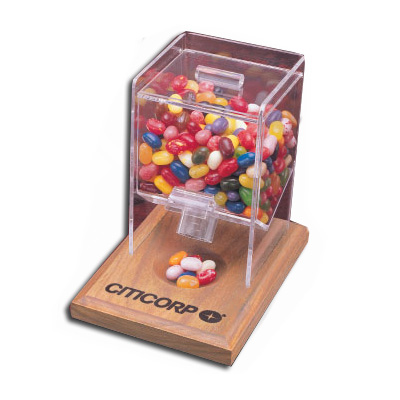 Desktop Dispenser With Multi-Color Assortment