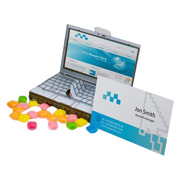 Billboard Lap Top Candy Box