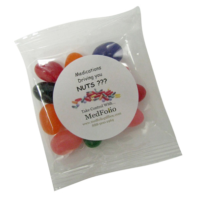 1 oz. Goody Bags - Jelly Beans