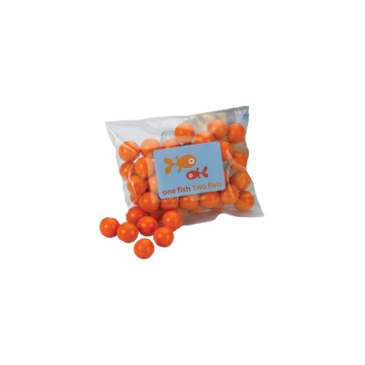 2x3 Plastic Heat Sealed Bag - Candy