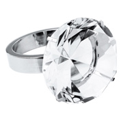 Crystal Diamond Ring Paperweight