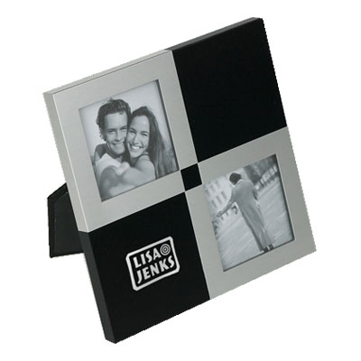 Helice Noir Photo Frame