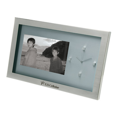 6x4 Photo Frame and Clock