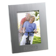 3.5x5 Brushed Silver Picture Frame