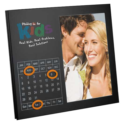Magnetic Frame With Perpetual Calendar