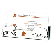Namesake Bull & Bear Card Holder
