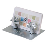 Kick-Off Business Card Holder