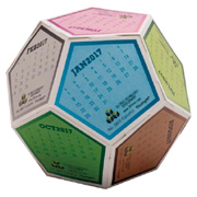 Fun Shapes Sphere Calendar