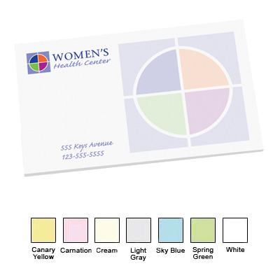 Post-it Custom Printed Notes 3 x 5