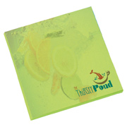 BIC 3x3 Adhesive Colored Paper Notepad - 25 Sheets