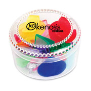 Round Set of Clips
