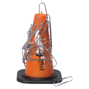 Magnetic Safety Cone Paper Clip Holder