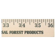 Yardstick - Natural Finish
