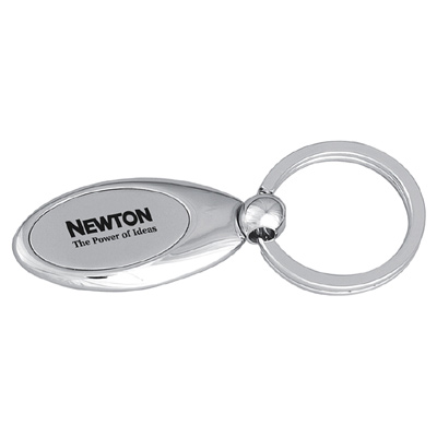 Nickel Plated Keyring