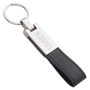 UltraHyde Silver Key Ring