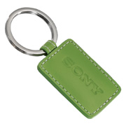 Limelight Rectangular Leather Key Fob