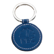 Limelight Round Leather Key Fob