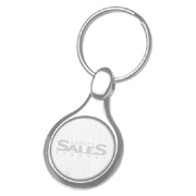 Classic Round Metal Key Chain
