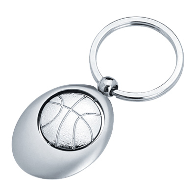 Basketball Swivel Sports Key Chain