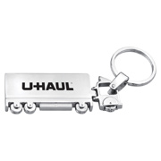 Metal Truck Key Chain