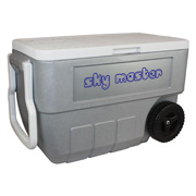 Coleman 50 Quart Wheeled Cooler