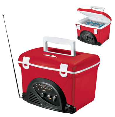 Portable Radio Cooler