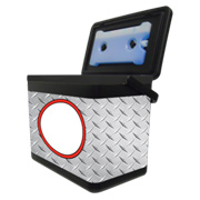Iceberg Cooler - Diamond Plate