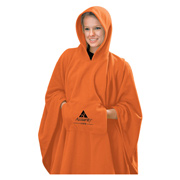 Polar Fleece Poncho Blanket