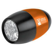 Push-Button Mini Barrel Flashlight