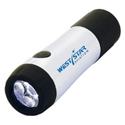 Twist Charging 3-LED Flashlight