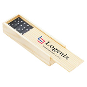 Travel Domino Set in Wooden Box