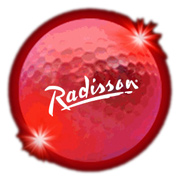 Light Up Golf Balls - Red LED
