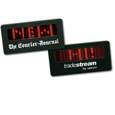 Small LED Animated Name Badge
