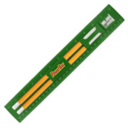 BioGreen Pencil and Ruler Set