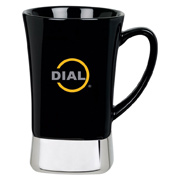 12 oz. Ceramic/Stainless Steel Mug