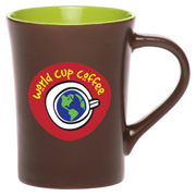 14 oz. Chocolate Ceramic Coffee Mug