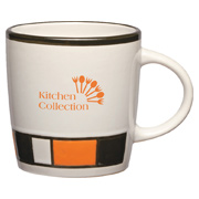 14 oz. Color Block Ceramic Mug