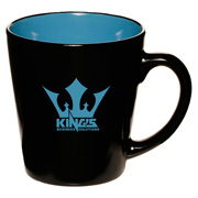 12 oz. Two Tone Latte Mug